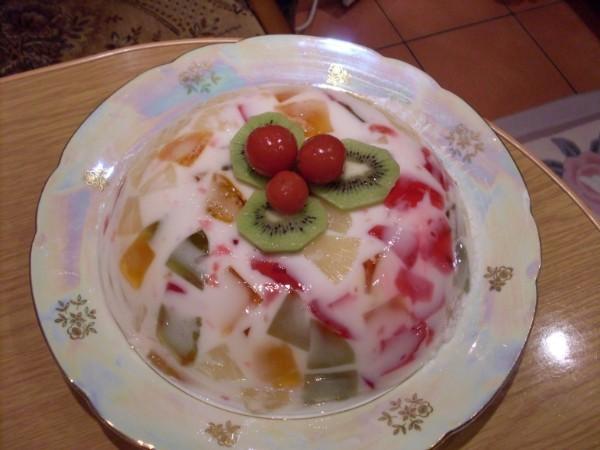 Желе с йогуртом рецепт с пошагово