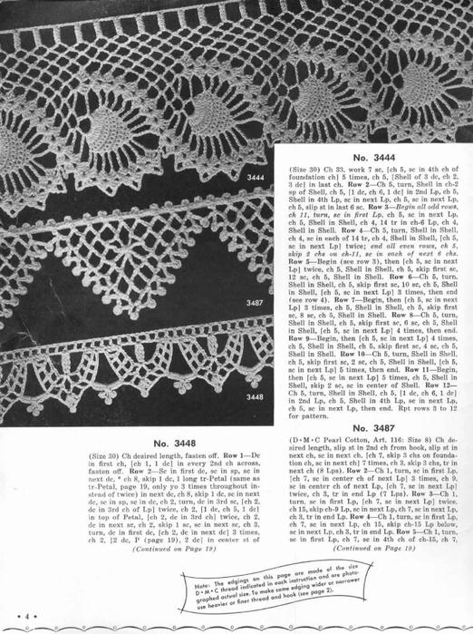 1951 Crochet Easy to make Edgings-4 (522x700, 261Kb)
