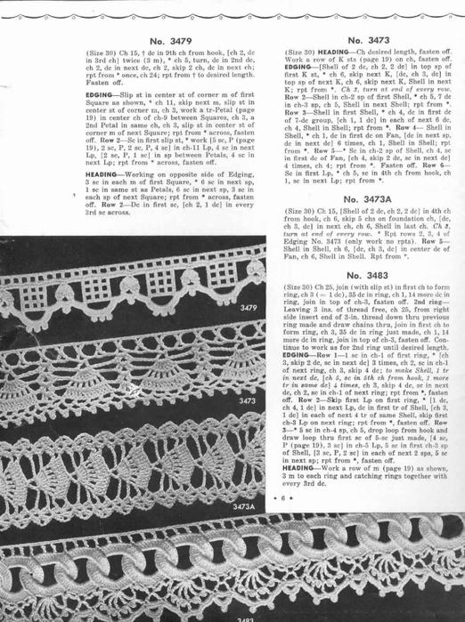 1951 Crochet Easy to make Edgings-6 (522x700, 257Kb)