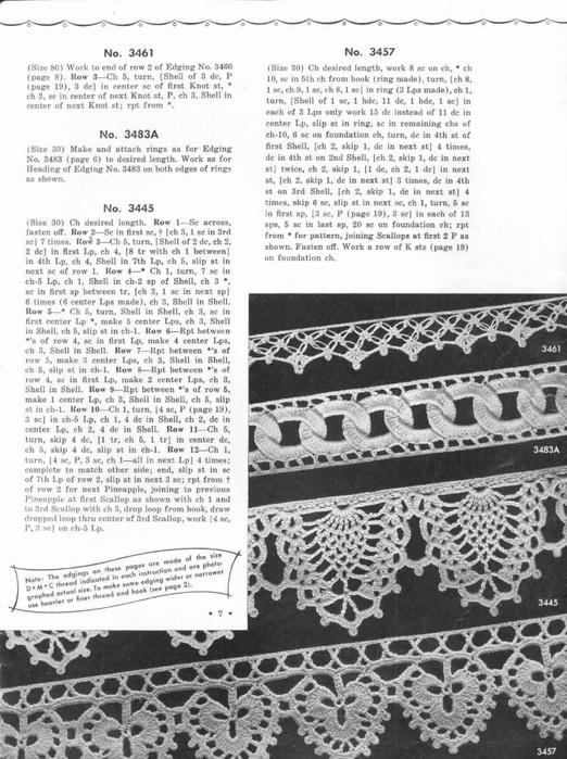 1951 Crochet Easy to make Edgings-7 (522x700, 248Kb)