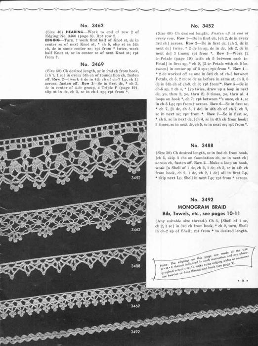 1951 Crochet Easy to make Edgings-9 (522x700, 232Kb)