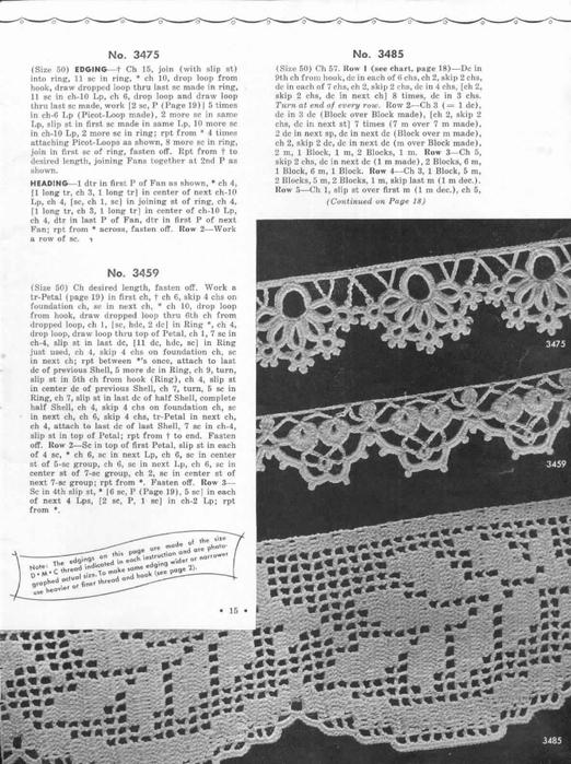 1951 Crochet Easy to make Edgings-15 (522x700, 255Kb)