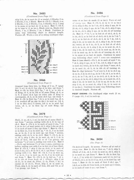 1951 Crochet Easy to make Edgings-18 (522x700, 185Kb)