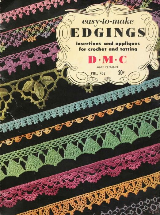 1951 Crochet Easy to make Edgings-BC (522x700, 347Kb)