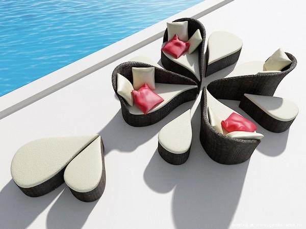 красивая мягкая мебель из ротанга фото (600x450, 122Kb)