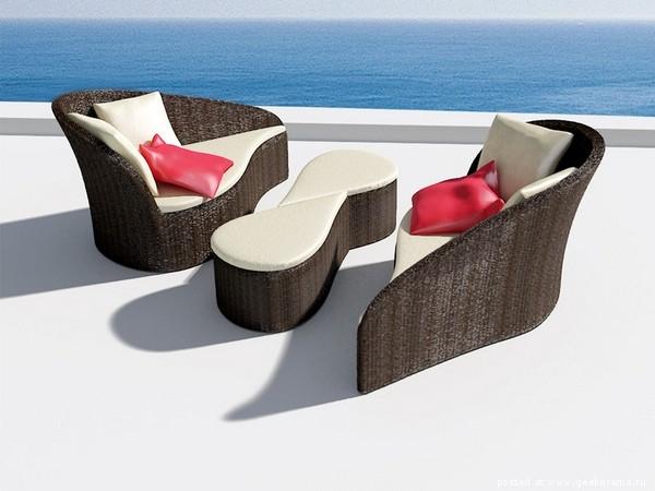 красивая мягкая мебель из ротанга фото 2 (600x450, 122Kb)
