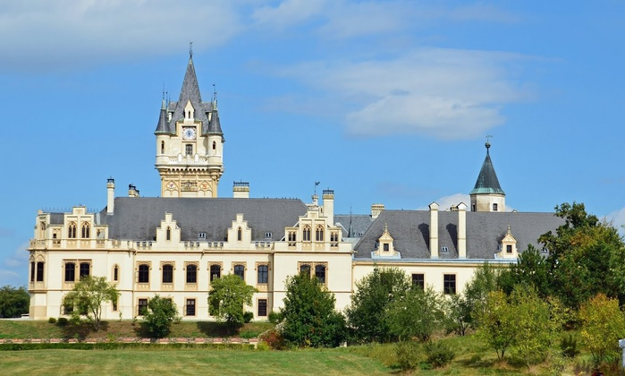 Замок Графенегг - романтичная драгоценность. 72300