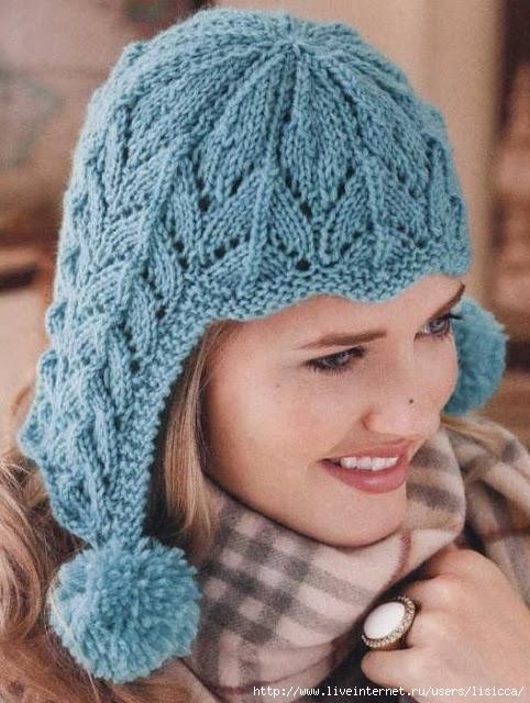 Lace Earflap hat (482x640, 206Kb)