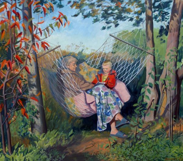бабушка и внучка (600x530, 70Kb)
