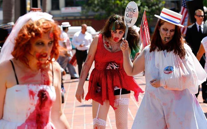 А.Зомби, кандидат в президенты США. Фотографии