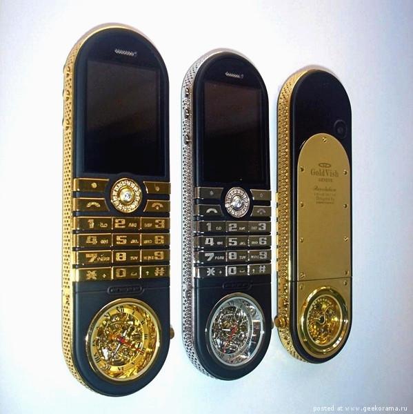 элитные телефоны GoldVish 2 (599x600, 199Kb)