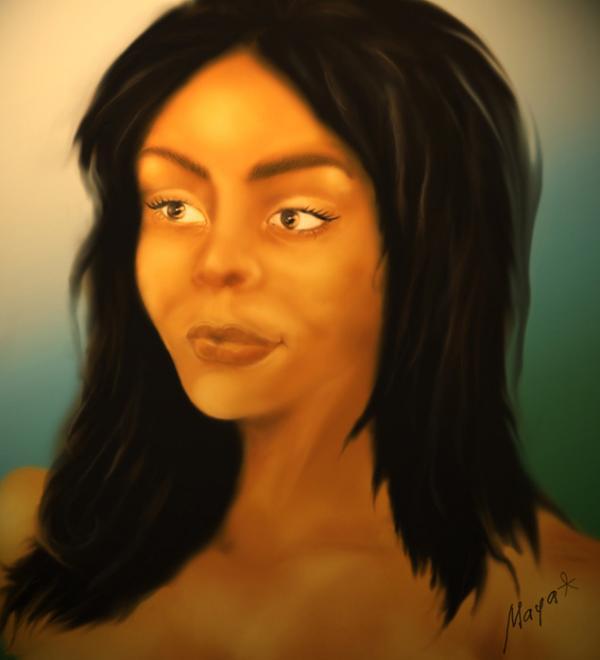 0. Образ женщины Майя. (600x660, 24Kb)