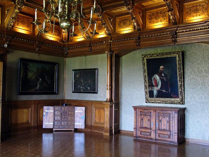 Замок Графенегг - романтичная драгоценность. 59190