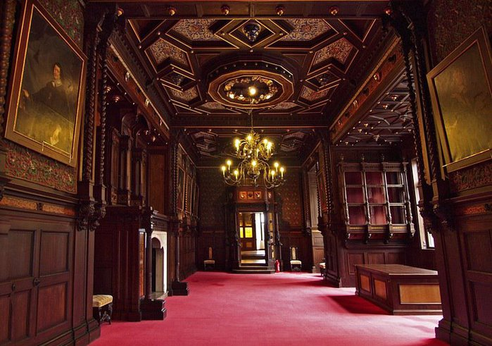 Замок Графенегг - романтичная драгоценность. 69570