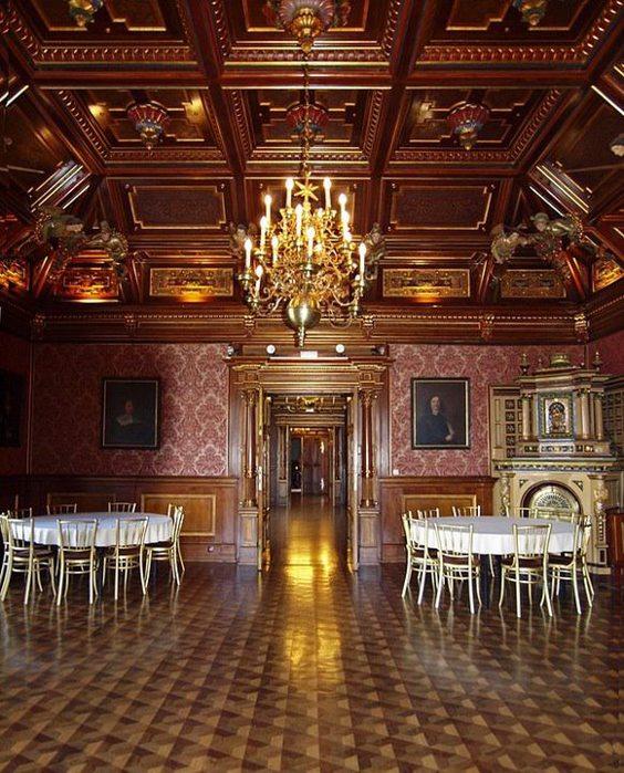 Замок Графенегг - романтичная драгоценность. 57477