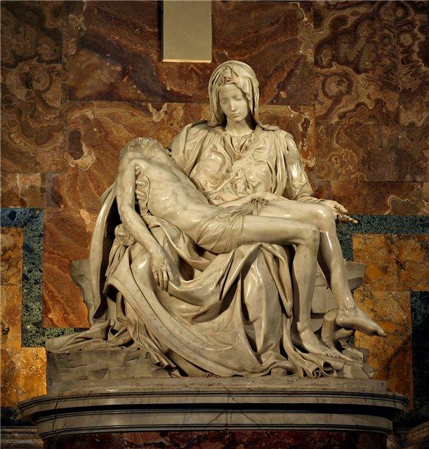 Микеланджело Пьета фото (611x640, 104Kb)