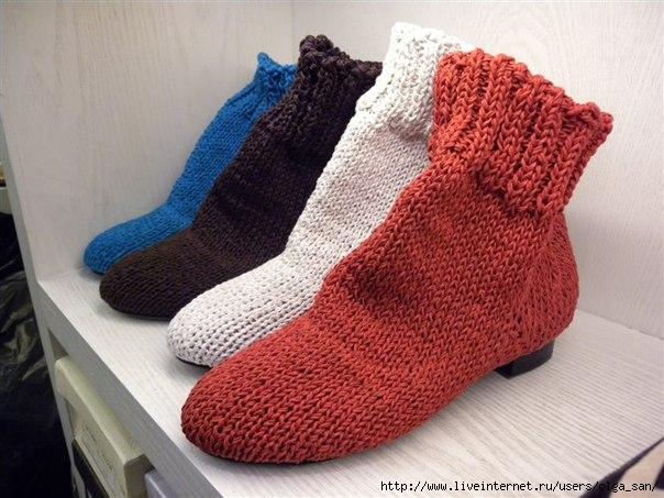 欣赏:编织鞋 - maomao - 我随心动