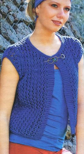 Жакеты Вязание спицами модели