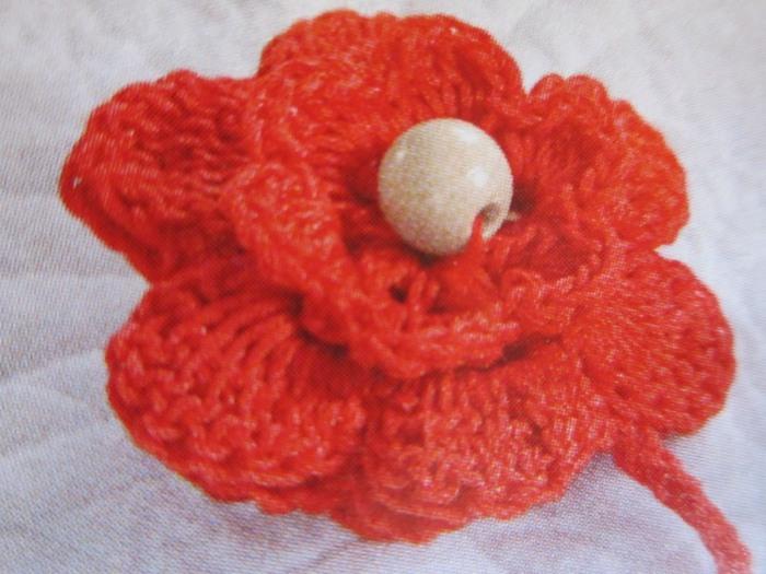 Еще один цветочек,связанный