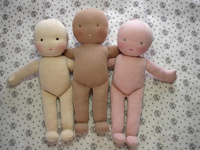 Сделать вальдорфскую куклу своими руками