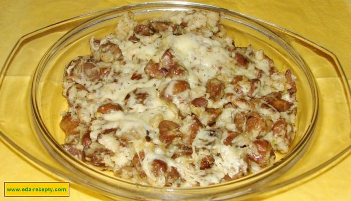 Грибы со сметаной рецепт с фото пошаговый