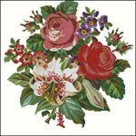 Превью Embroiderers Guild Berlin woolwork collection English Flowers-54 (420x420, 52Kb)