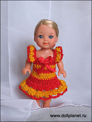 Вязание для кукол. Эви.