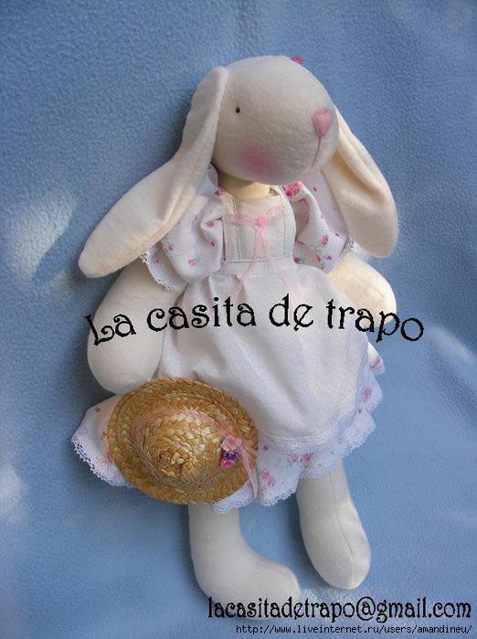 Coneja Jacinta Casita de Trapo (522x700, 167Kb)