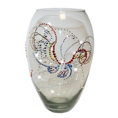 Как украсить вазу своими руками фото