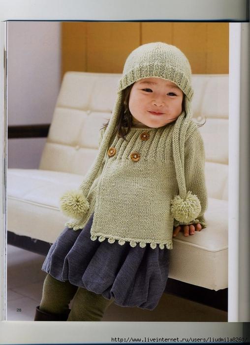 Вязание спицами для детей модели фото