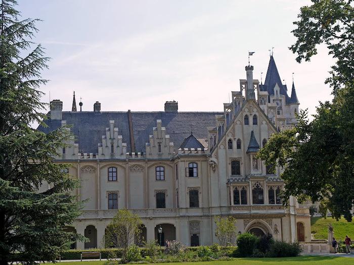 Замок Графенегг - романтичная драгоценность. 58136