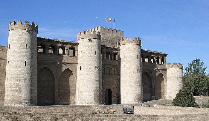 Замок Альхаферия (Castillo de Aljaferia) - жемчужинa испанского исламского наследия 82244