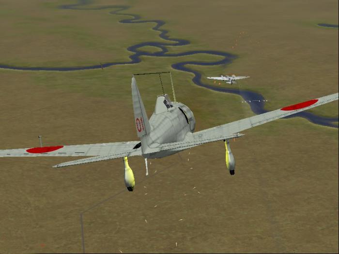 08 Ки-27 атакует СБ-2 (700x525, 63Kb)