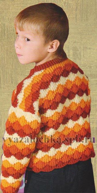 Вязяния спицами платья свитеры джемперы.