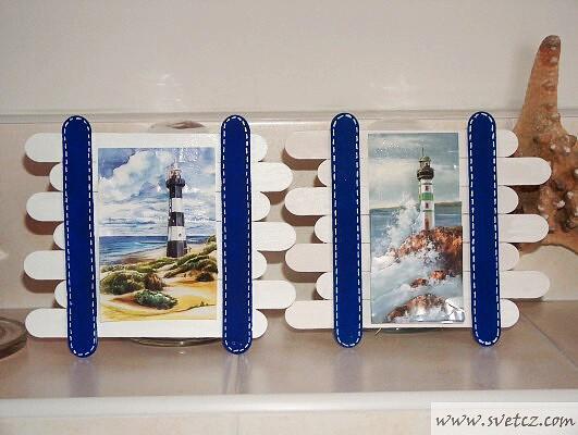 Поделки из палочек от мороженого своими руками фото