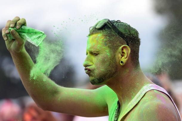 Холи фестиваль в Дрездене, 26 августа 2012 года