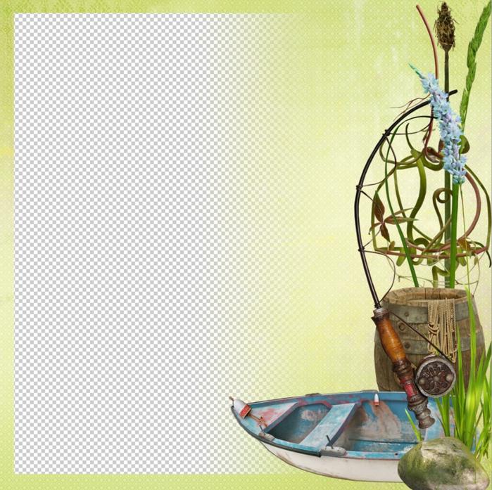 Шаблон для Photoshop/5027414_Fish_empty (700x697, 380Kb)