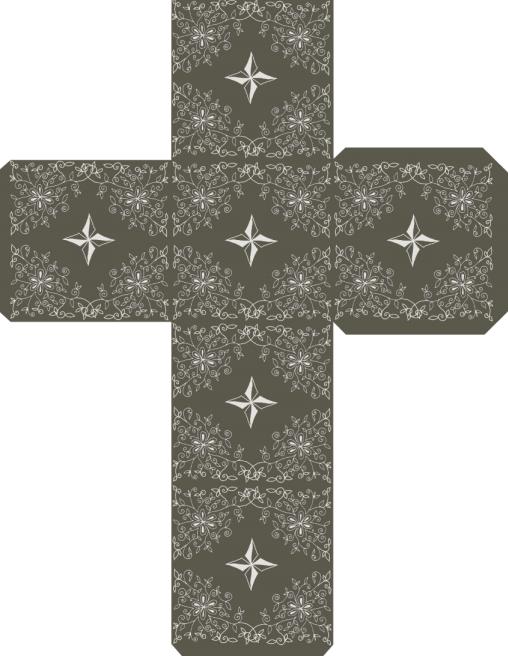 Коробочки для подарков своими руками. Шаблоны (3)