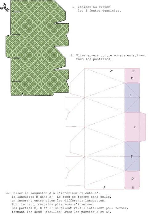 Шаблоны коробочек своими руками (7)