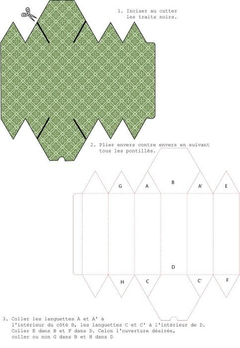 Шаблоны коробочек своими руками (10)