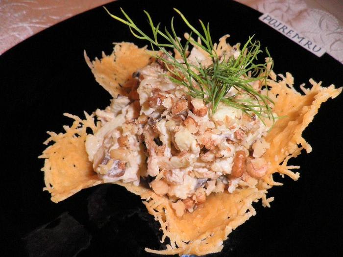 салаты рецепты с грибами шампиньонами с фото