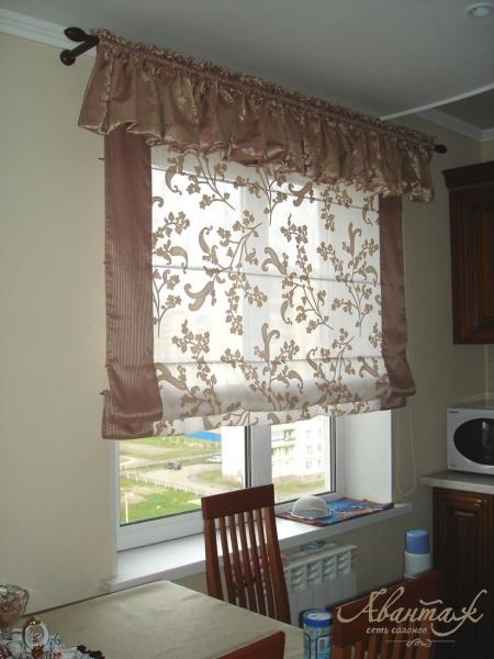 шторы для кухни фотогалерея