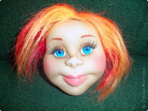 голова и лицо капроновых кукол утяжка лица - мастер классы в рукодельной энциклопедии ProHobbi