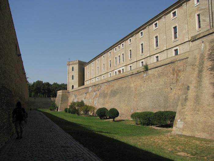 Замок Альхаферия (Castillo de Aljaferia) - жемчужинa испанского исламского наследия 56234