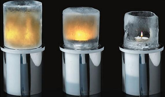 подсвечник из льда (570x335, 105Kb)