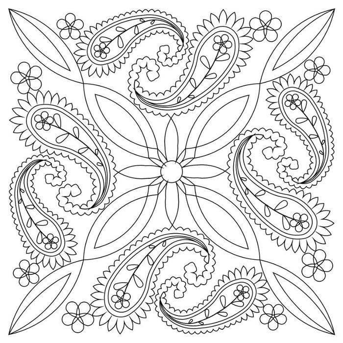 印度式佩斯利模式 - maomao - 我随心动