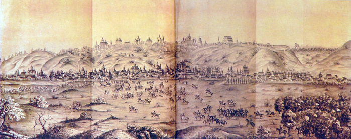 2 Загальний вигляд Києва з північного сходу (700x278, 322Kb)