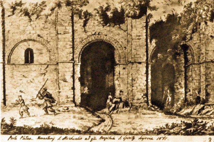 11 Руїни невідомої споруди стародавнього Києва (700x466, 139Kb)