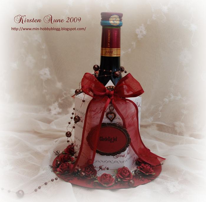 Бутылка в подарок красивая упаковка