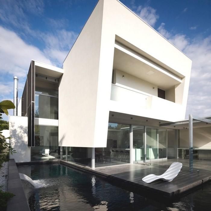 Австралийский частный дом в стиле минимализм 10 (700x700, 93Kb)